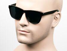 Category 4 Horn Rim Street OG LOC Style Sunglasses Super Dark Black/Glossy 12SD