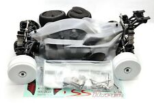 HOBAO 1/8 HYPER VSE ROLLER 80% ELECTRIC BUGGY KIT #HB-SSE CLEAR BODY 4S 6S