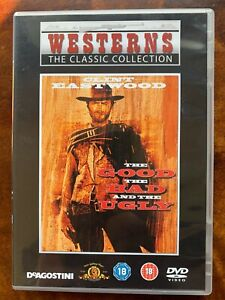 Good The Bad and the Ugly DVD 1966 Spaghetti Western Movie Classic DeAgostini
