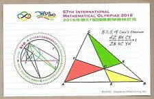 China Hong Kong 2016 57th International Mathematical Olympiad 2016 S/S Triangle