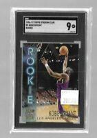 Kobe Bryant 1996-97 Topps Stadium Club RC SGC 9--Lakers