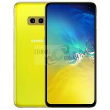 NEW SAMSUNG GALAXY S10E DUMMY DISPLAY PHONE - CANARY YELLOW (UK SELLER)