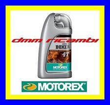 1 Litro Olio Motore 4 tempi MOTOREX BOXER 4T 15W/50 Sintetico API SL JASO MA BMW