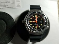 Tauchmeister 1937 Mens Automatic Divers 1000 m Water Resistant Watch with Date