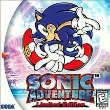 Sonic Adventure: Limited Edition (Sega Dreamcast, 1999) Disc Only