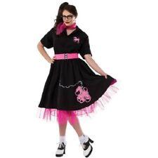 Rubie's Women's Plus-Size 50's Black Poodle Skirt, Black, X-Large