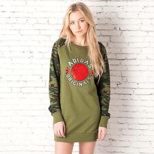 adidas Originals Camo Basketball Long Sweatshirt Dress G91014 Size 8