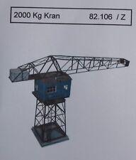 Artmaster 82.106 Kran 2000 kg / 2 To. Hafenkran Bausatz Spur Z 1:220 Neu / OVP