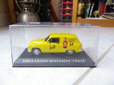 Simca Aronde Messagère Fruité Altaya Ixo 1/43 Miniature