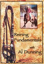 DVD Reining Fundamentals - Al Dunning Horse Western Horse Training