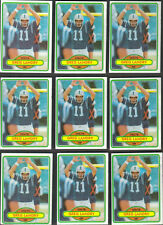 Topps Autographed Football Trading Cards Baltimore Colts