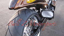 Hayabusa Black/Silver Ball Cut Peg License Plate Tag Bracket!! 99-07-08-15-16-17