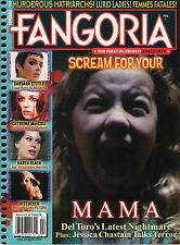 FANGORIA #320 February 2013 Scream for your MAMA Del Toro Karen Black Hitchcock