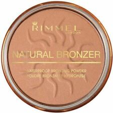 RIMMEL NATURAL BRONZER WATERPROOF BRONZING POWDER # 021 SUN LIGHT 4gm