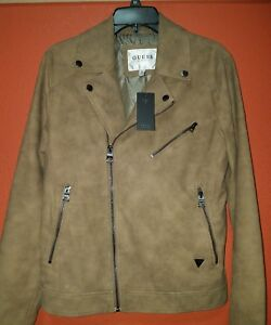 Guess suede jacket XS brand new with tags
