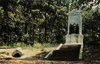 Postcard Illinois Monument Cheatham Hill Marietta Georgia