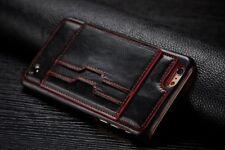 HandyHülle Für Apple iPhone 6S Plus Case Hülle Tasche - Schwarz (4CSCR)