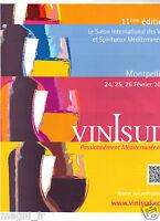 Publicité 2014 - Salon international des Vins et Spiritueux de MONTPELLIER