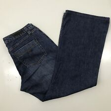 """Christopher Banks Stretch Womens Jeans Boot Cut No Size Tag Measured (34"""" x 30"""")"""