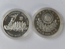 5000  Won 1986  Süd-Korea Tauziehen Silber PP Seoul 1988