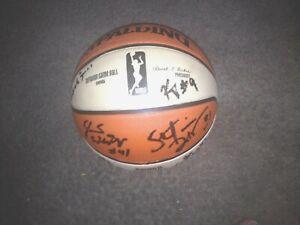 Washington Mystics 2016 Team Autographed WNBA Ball  COA