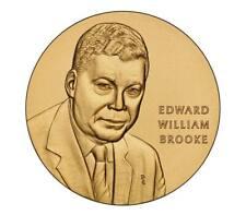 "New listing Senator Edward William Brooke Iii Bronze Medal 1.5 "" See Price Increase Info!"