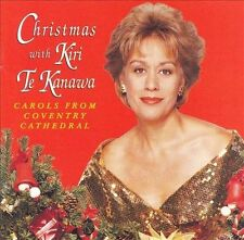 Kiri Te Kanawa Christmas With CD Carols From Coventry Cathedral 1995 Teldec VG+