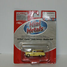 HO-Classic Metal Works-53 Ford Sedan Delivery Meadow Gold 30307 NEW