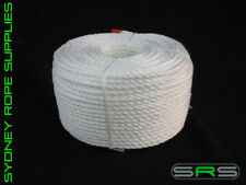 100MTRS X 16MM POLYPROPYLENE WHITE ROPE