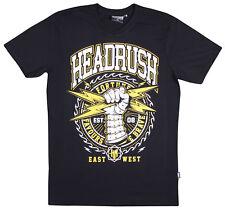 Headrush Mens Lightning Bolt T-Shirt - Black/White - Small