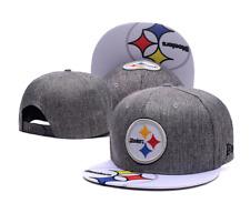 New Era Snapback NFL Pittsburgh Steelers Grey White Unisex Adults