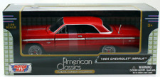 Motormax 1/24 Scale 1964 Chevrolet Impala  Red model car
