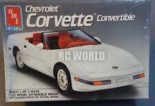 AMTErtl 1991 CHEVROLET CORVETTE CONVERTIBLE 1/25 Model Kit SEALED #OO