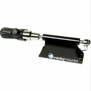 RockyMounts LoBall LOCKING Bike Mount: 9mm QR, Black - Van/Truck Bed Rack