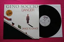 Rare Maxi 45T /Gino Soccio – Dancer / Dance To Dance  / 26087 / EX