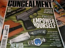 CONSEALMENT magazine  issue 9 2018 revisting the 20-gauge for home defense  AA-5