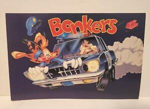 DISNEY BONKERS 1993 TV SHOW CARTOON PROMO POSTCARD 1989 PROMOTIONAL POST CARD