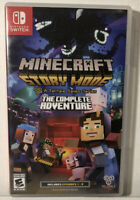 Minecraft Story Mode The Complete Adventure Nintendo Switch Complete CIB Tested