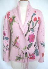Geblümte hüftlange Damen-Pullover & -Strickware in Größe XL