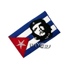 Cuba Flag Patch Embroidered Flag Sew or Iron on Patch National With Che Guevara