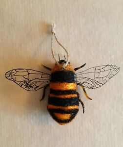 Cody Foster Bumble Bee Christmas Ornament, 4x6, New