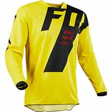 Maillots de cross jaunes Fox