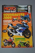 MOTO JOURNAL N°1629 BETA 350 ALP 4.0 HM-HONDA CRE 230 F SUZUKI GSXR 1000 2004