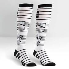 Musical notes on Women's Knee High Socks by Sock It To Me