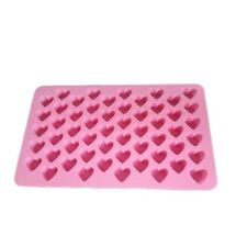 Small Silicone Heart Mold Soap Embeddable Chocolate Candy Cake Molds Decoration