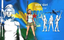 120mm resin figure model kit 1/16 scale Sexy beauty VDV Girl R2118 Garage Kit