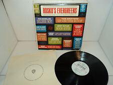 ROSKO'S EVERGREENS SHIRELLES JERRY BUTLER DRIFTERS VARIOUS WARNER WLP RARE LP