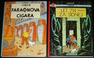 Tintin - Faraonova cigara & Let 716 za Sidnej HC / Yugoslavia 1990 / Herge
