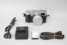 Fujifilm FinePix X100T 16MP Digital Compact Camera, Silver, X100 T