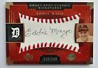 Eddie Mayo 2004 Sweet Spot Classic Signatures Black #119/140 Detroit Tigers Auto